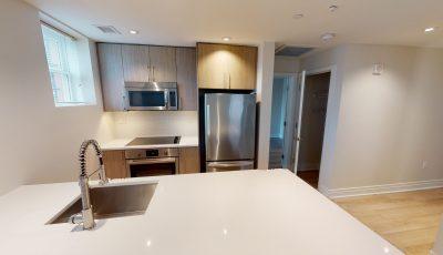 2 Bedroom 2 Bath Townhome Exterior Unit 1049ft² 3D Model